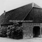 Hof Ressemann an Böningstraße 166 Gebäude von 1816 // FS I 04645 ISG © Stadt Gelsenkirchen
