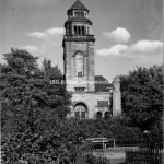 ev. Paulus Kirche in Resse 1955 // FS I 08650 ISG © Stadt Gelsenkirchen