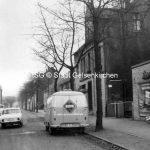 Blick in die Ahornstraße 1964 // FS I 12359 ISG © Stadt Gelsenkirchen