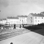 Wohnsiedlung zwischen Crange und Münsterstraße, 1956 // FS V 020351 ISG © Stadt Gelsenkirchen / Foto Rotterdam