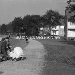 Reihenhäuser Resser Mark Coesfelder Straße 1955 // FS V 023399 ISG © Stadt Gelsenkirchen / Foto Rotterdam