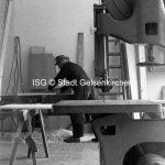 Tischlerei in Resse 1968 // FS V 031841 ISG © Stadt Gelsenkirchen