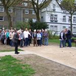 Eröffnung Boule Bahn am Marktplatz in Gelsenkirchen Resse 01.04.17 Foto: I.Milde Nr7