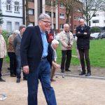 Eröffnung Boule Bahn am Marktplatz in Gelsenkirchen Resse 01.04.17 Foto: I.Milde Nr13