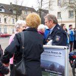 Eröffnung Boule Bahn am Marktplatz in Gelsenkirchen Resse 01.04.17 Foto: I.Milde Nr19