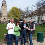 Eröffnung Boule Bahn am Marktplatz in Gelsenkirchen Resse 01.04.17 Foto: I.Milde Nr23