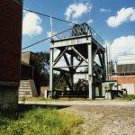 Zeche Ewald Schacht 6 Gelsenkirchen Resse - 1985 - Foto: Bergbausammlung Rotthausen