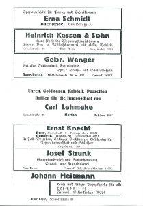 Werbung 1936 Buer-Resse-1