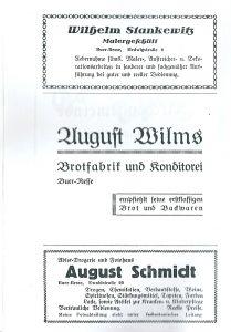 Werbung 1936 Buer-Resse