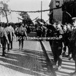 Propagandamarsch zum 10 jährigen Bestehen der Ortsgruppe Resse 1933 // FS I 07738 ISG © Stadt Gelsenkirchen