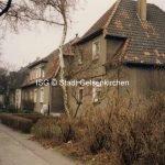 Zechenhäuser in der Siedlung Zeche Ewald Ahornstraße 1989 // FS I 12724-11 ISG © Stadt Gelsenkirchen Foto H.W. Schaake