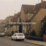 Zechenhäuser in der Siedlung Zeche Ewald Luisenstraße 1998 // FS I 12724-14 ISG © Stadt Gelsenkirchen Foto H.W. Schaake