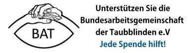 BAT - Bundesarbeitsgemeinschaft Taubblinde