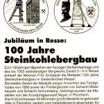 Gedenkmünze Zeche Ewald in ResseFoto: Bergbausammlung Rotthausen