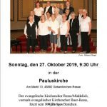 100 Jahre Kirchenchor in Resse